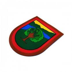 escudo termoadhesivo de brazo guarda de campo