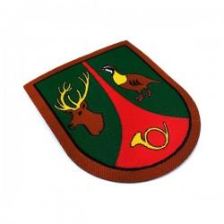 emblema de brazo guarda de caza