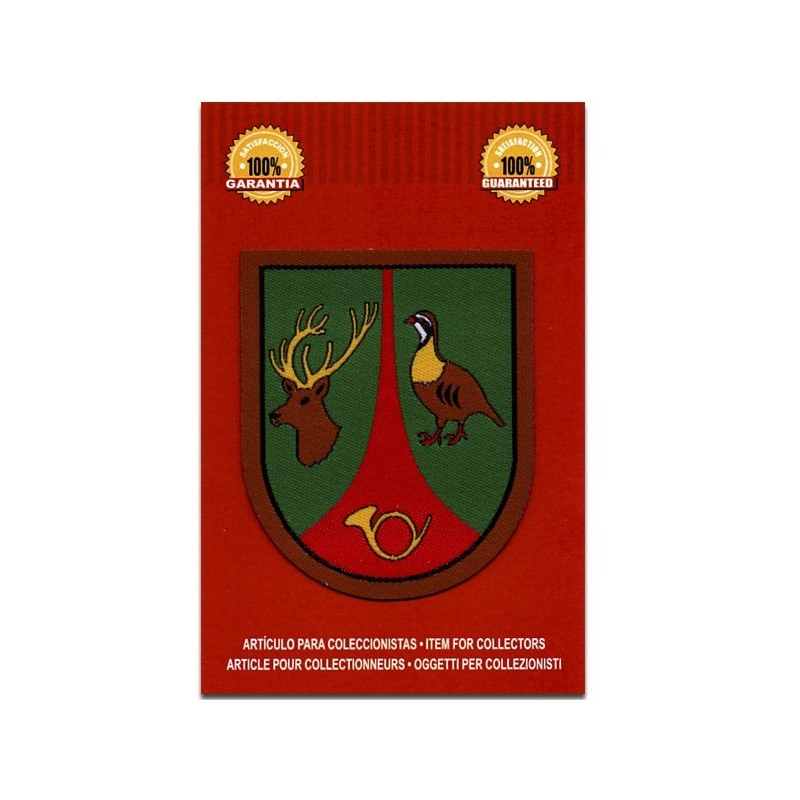 escudo guarda particular de caza