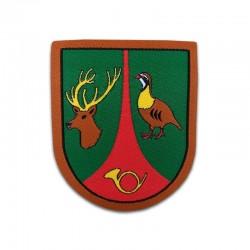 escudo termoadhesivo guarda caza