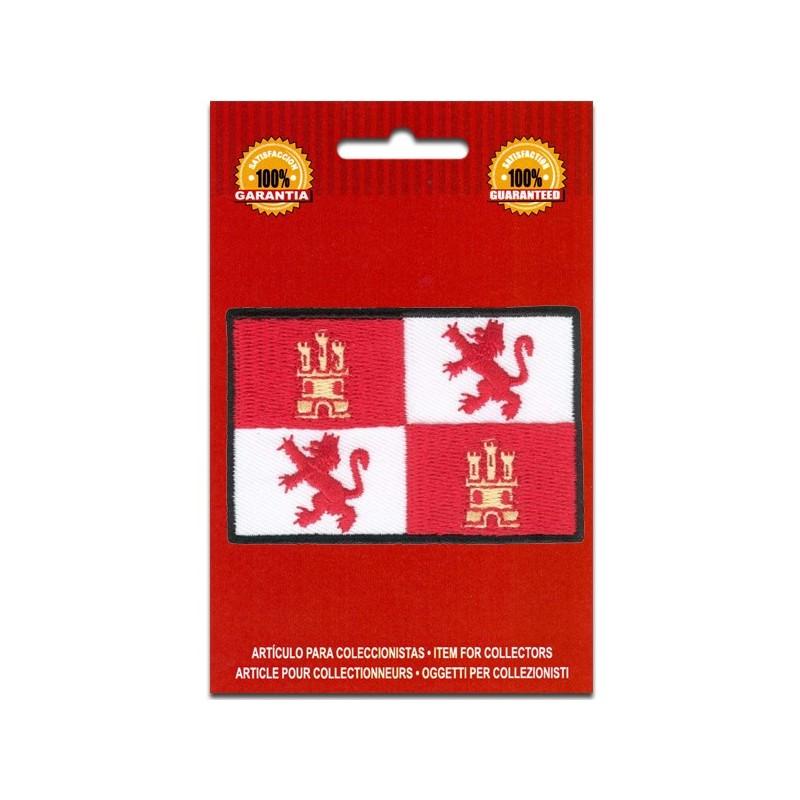 bandera bordada de castilla y leon