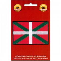 bandera bordada de Euskadi país vasco