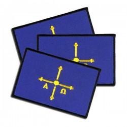 iron on embroidered flag Asturias spain