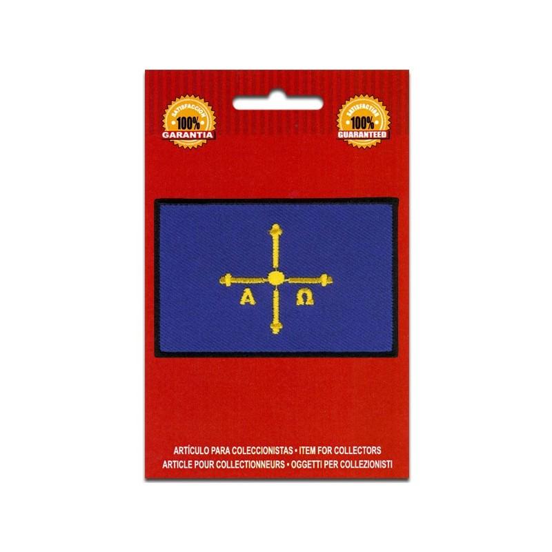 bandera bordada asturias