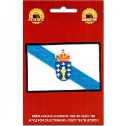 bandera bordada de galicia