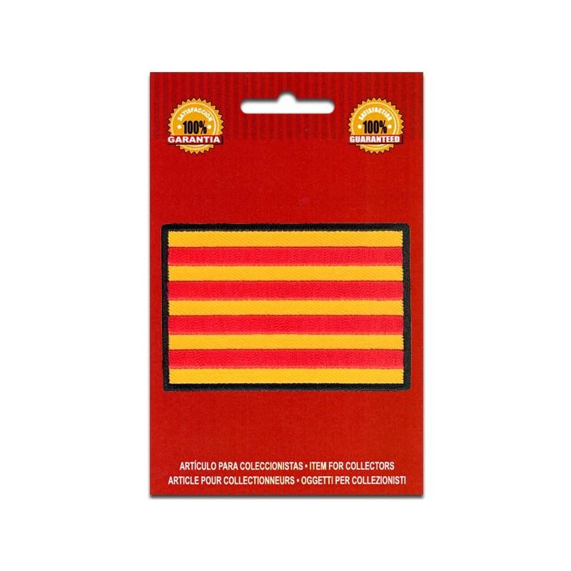 bandera bordada cataluña