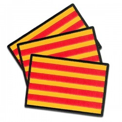 iron on embroidered flags catalonia