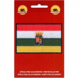 bandera bordada la rioja
