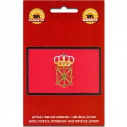 bandera bordada navarra