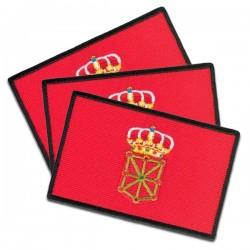 banderas de navarra bordadas