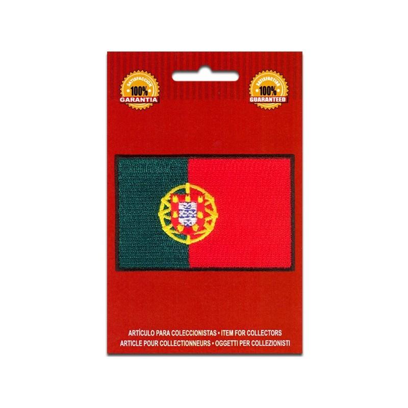 bandera bordada portugal