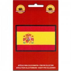 bandera bordada de españa