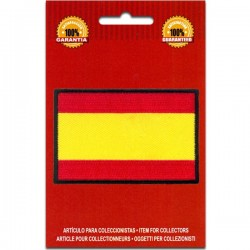 Iron On Embroidered Flag Spain