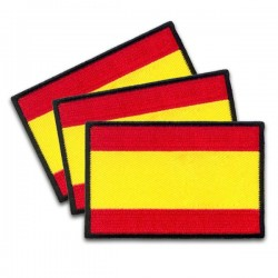 iron on embroidery flags spain