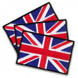 iron on embroidered flag united kingdom