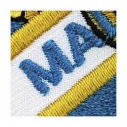 emblema bordado malaga cf