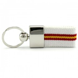 Metal Keychain Flag Spain...