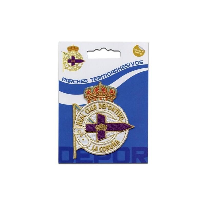 escudo bordado deportivo coruña