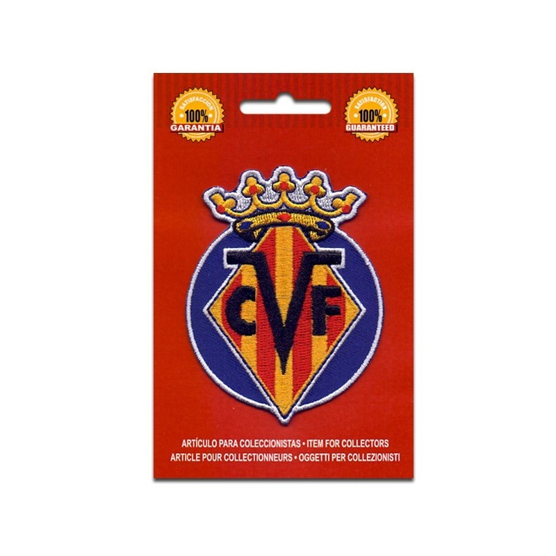 escudo bordado villarreal