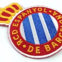 rcd español escudo bordado