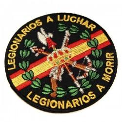bordado legion españa