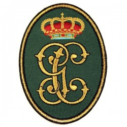 antiguo escudo bordado guardia civil