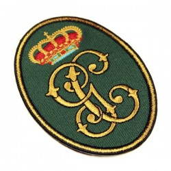 guardia civil bordado antiguo