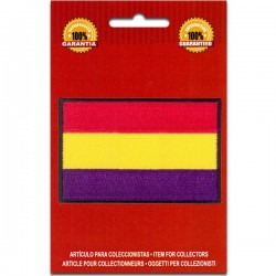 bandera bordada España republicana