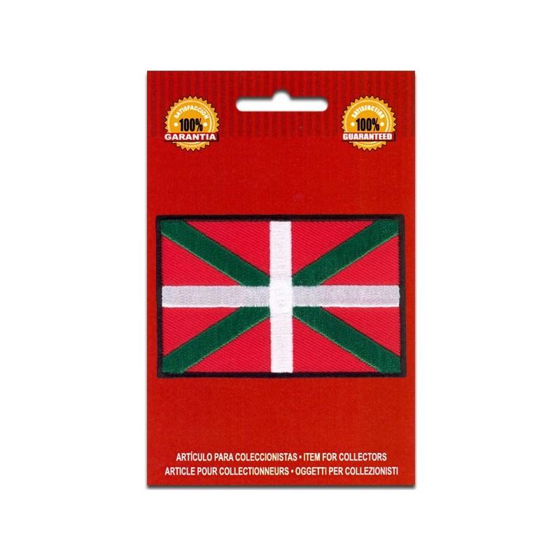 bandera bordada euskadi país vasco
