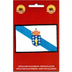 Iron On Embroidered Flag...