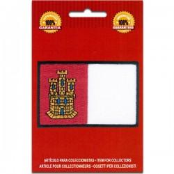 bandera bordada castilla la mancha
