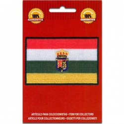 Iron On Embroidered Flag La...