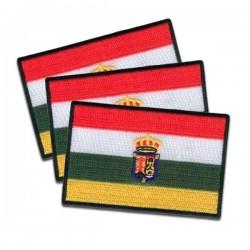 banderas riojanas termoadhesivas