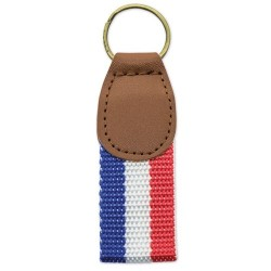 Leatherette Keychain Flag...