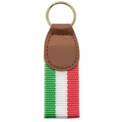 llavero polipiel bandera italia