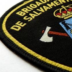insignia brigada salvamento minero asturias