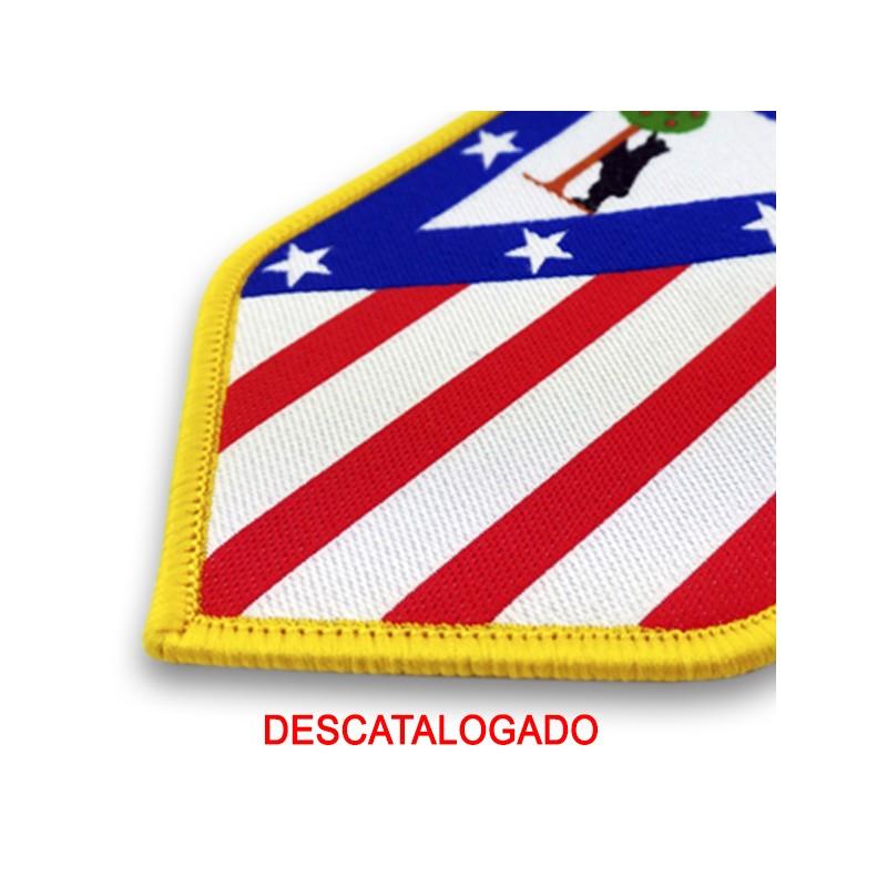 old emblem atletico madrid spain