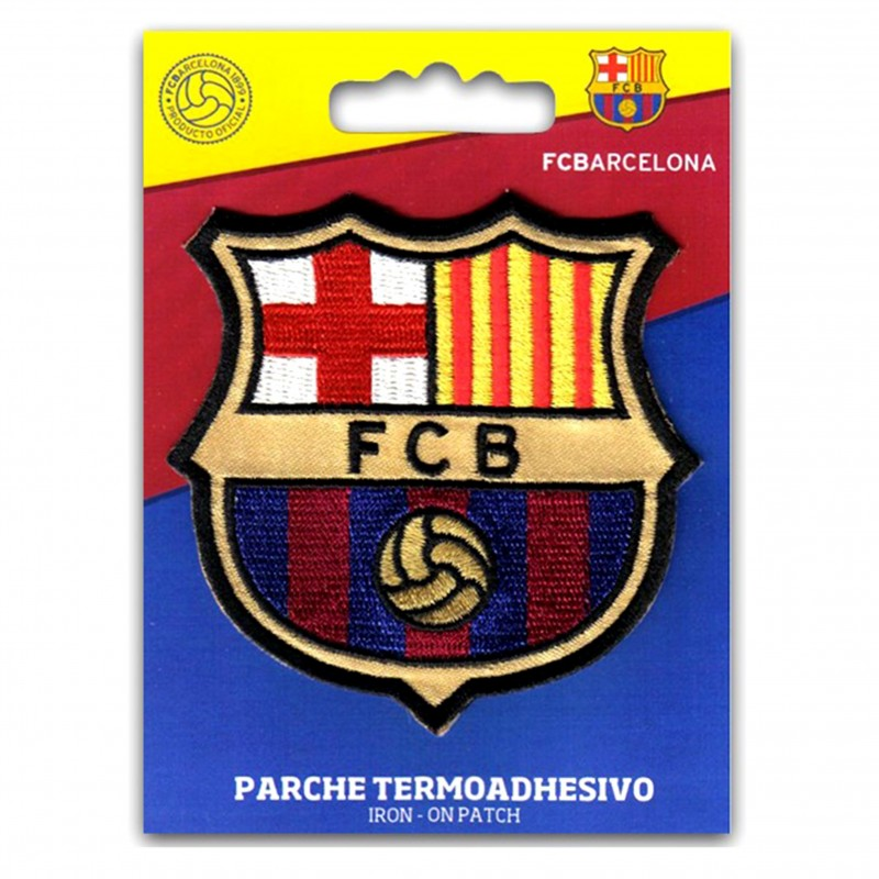 Iron On Patch FC Barcelona