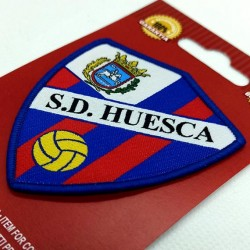 sd huesca escudo bordado