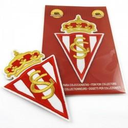 escudos bordados sporting de gijon