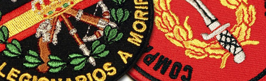 Military Army Cop Embroidery Patches and Emblems